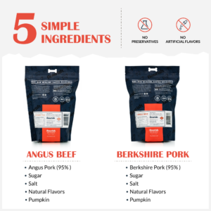 2 pack 1 Lb Jerky Pork and Beef
