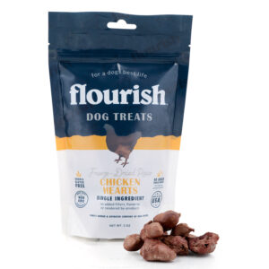 Freeze-Dried Raw Chicken Hearts