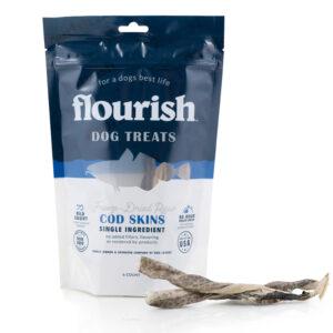 Freeze-Dried Raw Cod Skins