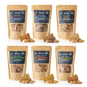 Biscuit Sampler 7 oz of all 6 flavors